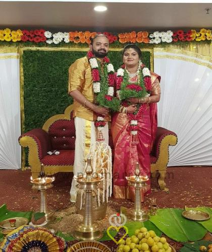 Good luck to Mr & Mrs. Narayan  by Professional Matrimony Dubai